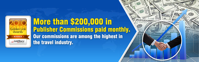 More than $200,000 in Publisher Commissions paid monthly.